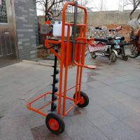 小型植保挖坑机 脚踏式汽油挖坑机 施肥机价格