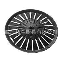 圆形气用铸不锈钢烤盘 家庭/户外便携式烤盘 品质保障 厂家批发