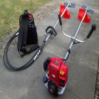 大功率耐用割灌机 背负式汽油四冲程割草机 进口割灌机 众诺