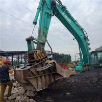 河南南阳大宇230青石破碎机修路用破碎混凝土设备