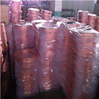 批发紫铜盘管 R410A环保冷媒空调紫铜盘管6.35 9.52 12.7 12.8 15.88mm
