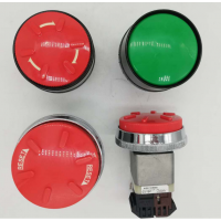 DR30D0L-E4G 红/绿色指示灯富士原装蘑菇头开关厂家直销