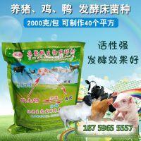 发酵床复合型菌种 垫料发酵剂 猪粪粪污零排放处理 养殖发酵床菌种