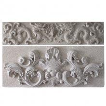 浮雕仿画卷石雕 石头雕刻技术难度大 专业生产加工