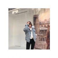 伊袖杭州欧版女装尾货批发市场折扣 品牌女装尾货范文银色职业女装