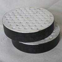 厂家专业定制桥梁公路用橡胶支座方形 隔震减震橡胶缓冲滑板支座圆形可定制