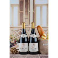 法国原瓶原装进口伊恩天使酒庄伊恩之爱红葡萄酒15度重装瓶