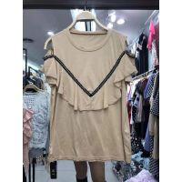 郑州服装批发市场哪里有便宜低到3元的杂款外贸女装批发库存女装厂家一手货源供应