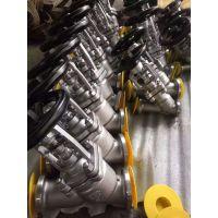 WJ65W-25P DN100不锈钢直流式波纹管截止阀