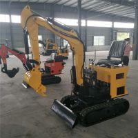 安全性能高小型挖掘机 单人操作座驾式挖掘机