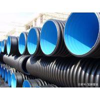 临沂HDPE双壁波纹管厂家DN300路政排污管耐用60后以上