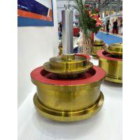 龙门吊起重机 φ350*100 单缘从动车轮组 行车行走轮 欧式车轮