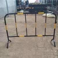 青岛护栏厂家 铁马护栏临时可移动道路隔离防护栏
