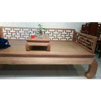 古典中式红木家具十大品牌东阳御美尚品大果紫檀罗汉床批发厂家