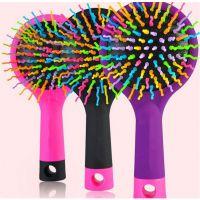 创意彩虹梳神奇气囊按摩梳子卷发防静电顺发魔法美发梳