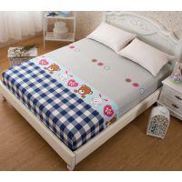 jsh床笠式单件床罩床垫松紧带四角固定防滑床单床套橡皮筋的包边