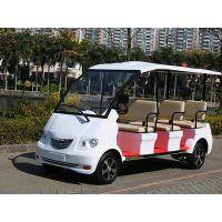 东莞8座电动观光车骏逸JY-8-48交流系统景区白色游览观光代步车
