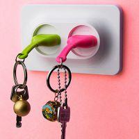 2个装Unplug Key Ring不插电钥匙链 插头插座钥匙归位器挂件
