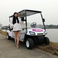 傲森厂家直销AS008电动4.2千瓦8座白色旅游观光车