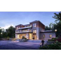 新中式乡村别墅设计