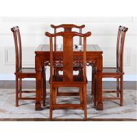 老榆木餐桌椅 历久弥新