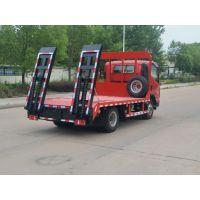 凯马蓝牌平板车可以拉8吨以下挖机1.4L