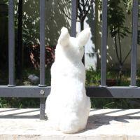 仿真兔子公仔创意工艺品橱窗摆件