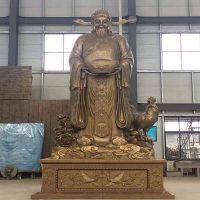 人物铸铜雕塑生产-菏泽人物铸铜雕塑-日照印象雕塑艺术