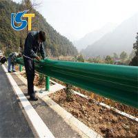 高速公路双波波形梁护栏乡村道路防撞护栏厂家直销湖北武汉