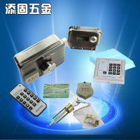 厂家直销 电控锁家用 刷卡锁感应电子锁 遥控门禁锁 磁卡锁ID智能