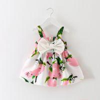 宝宝碎花背心裙无袖连衣裙 0-1-2-3-4岁半女童吊带裙韩版一件代发