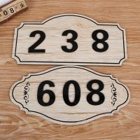 工厂定做 木质指示牌 商场号码门牌定制 木质工艺挂牌批发