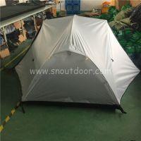 山牛野营双人防雨登山帐露营户外双层装备铝杆超轻帐篷