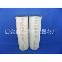 褶皱式滤筒 除尘滤筒 PTFE覆膜750高除尘滤芯 厂家批发现货