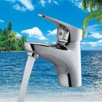 铜赛洛单孔 洗脸盆水龙头 冷热水龙头 混水阀 浴室 洗手盆龙头铜