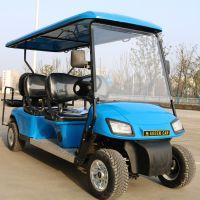 厂家直销AS-006 6人座充电8-10小时四轮电动顶棚加长看房车贵宾接待车
