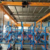 南昌伸缩式货架存放长货物 制造部件 航空部件