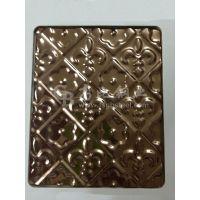 高比玫瑰金不锈钢冲压不锈钢装饰门厂家/304不锈钢冲压门板镀钛价格
