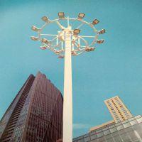 扬州高杆灯生产厂家,20米25米30米自动升降广场码头高亮照明灯具 扬州长悦照明直销
