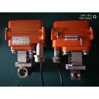 派格森不锈钢电动截止阀PM-05小型电动执行器针型阀生产厂家