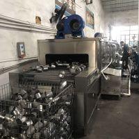 先泰源头工厂制造通过式不锈钢豆浆桶喷淋清洗机 退火前除油清洗机厂家