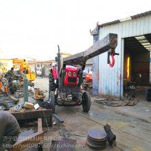 操作简单快捷的拖拉机行走吊车 农用拖拉机改装吊 随车吊