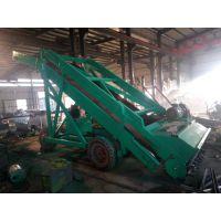牧场大型青储机定制厂家 输送式取料机 添加饲料青贮取料机