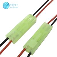 琴创高品质EL公母对接端子线 4.5mm间距压接照明灯具连接线