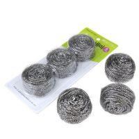 厨房不锈钢锅刷钢丝球 家用洗碗刷锅去污清洁清洁球铁丝批发