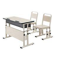 双人学习课桌椅 ,双人小学课桌椅,型号KXY-3576,学习活动桌,厂简约现代金属好椅达台