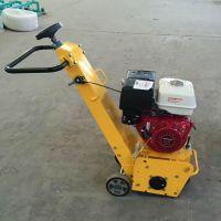 水泥沥青路面铣刨机小型汽油路面铣刨机多功能手推养护机