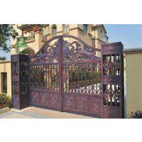 沈阳铝艺护栏铝艺栏杆,铝艺大门,铝艺庭院大门,铁艺大门,河北一博金属