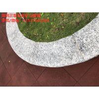 深圳花岗岩挡车石隔离石柱直径200天然花岗岩挡车石球