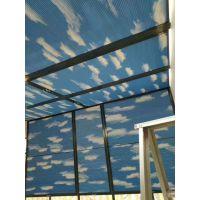 北京阳光房遮阳帘通州玻璃顶棚隔热蜂巢帘商场电动天棚帘厂家